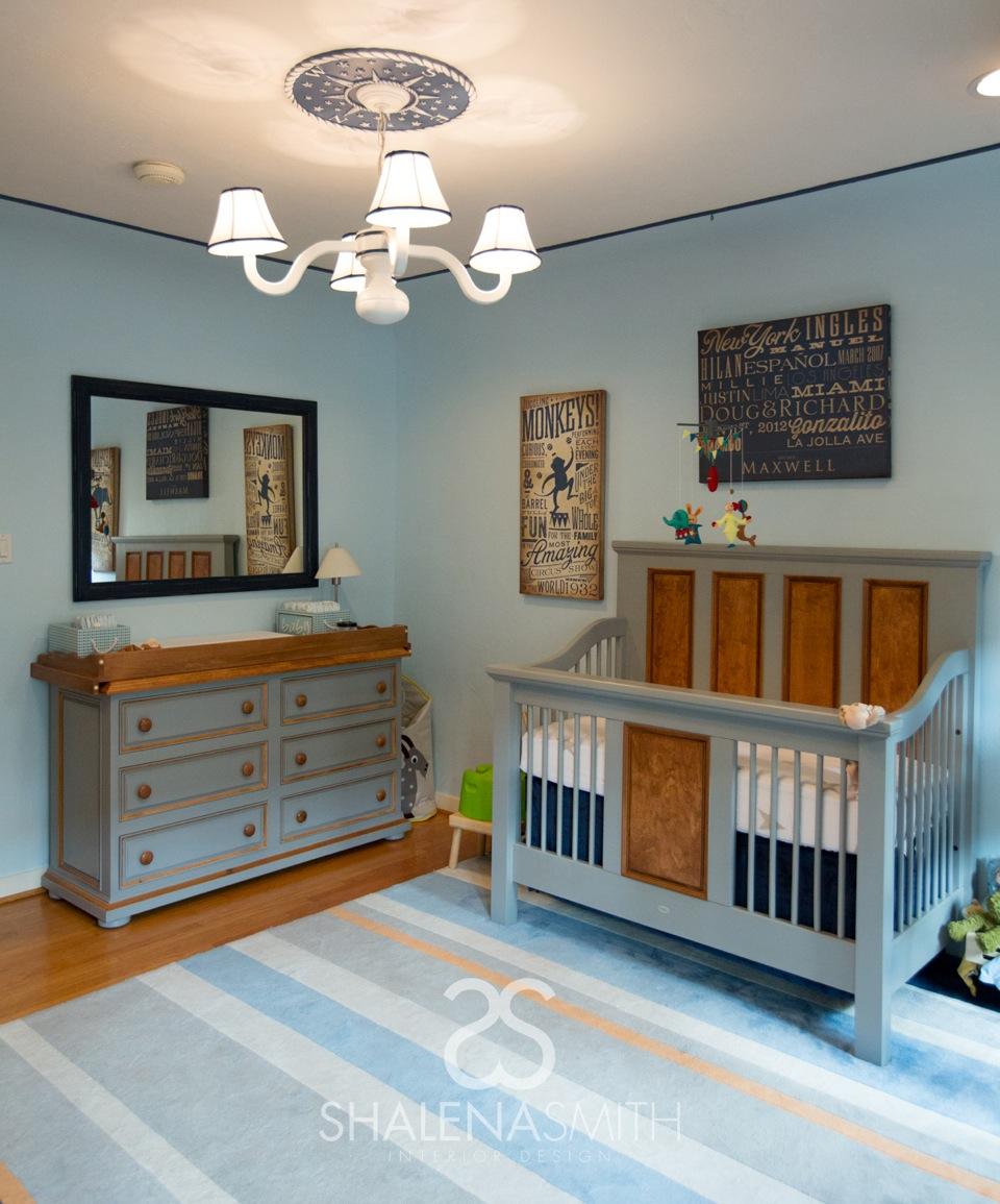 Celebrity Design Reveal Tamera Mowry S Nursery: Vote: July Room Finalist! Modern Circus Nursery
