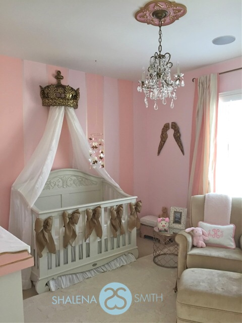 Powerful In Pink Ariah S Nursery Reveal Gaga Designs
