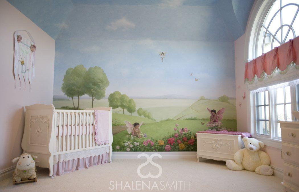 Garden Fairies – New York In-Home Nursery Design